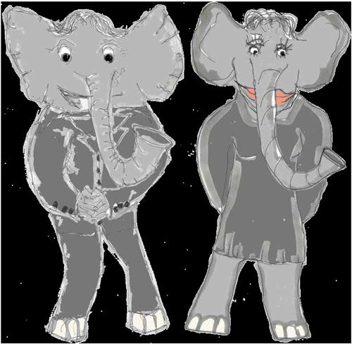 Chamäleon Methode Elefant