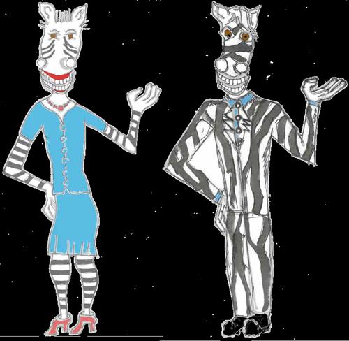 Chamäleon Methode Zebra
